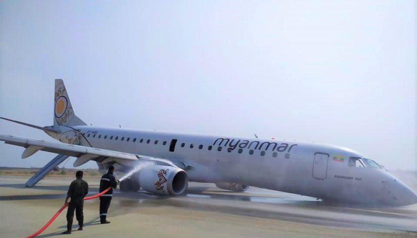 ミャンマーナショナル航空、ギア...