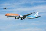 不運続きのKLMオランダ航空のB777-300ER『オレンジプライド』が中国からオランダへ帰国