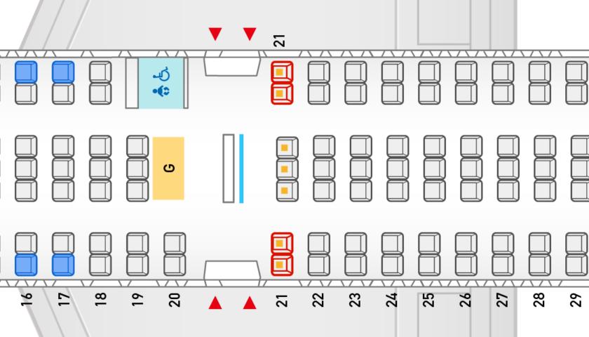 中型機使用のLCC各社座席数を比較 | sky-budget スカイバジェット