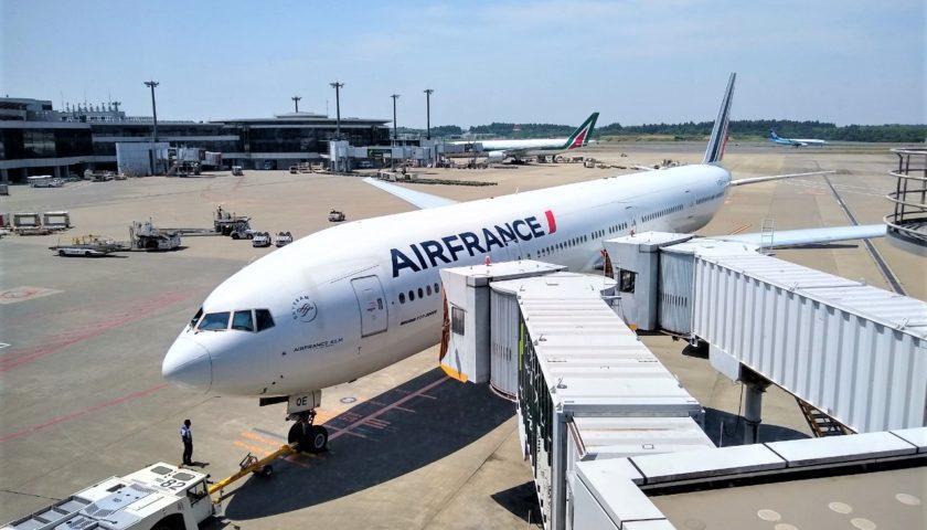 フランス エール やはり高級感あり。エールフランスのビジネスクラス搭乗記。関空=パリのB787