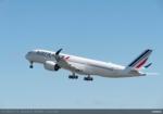 エールフランス航空、2021年11月2日より大阪/関西~パリ線にA350-900型機を投入