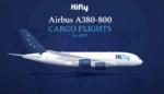 ハイフライ航空が、世界初となるA380の貨物機仕様への改修を終えたことを発表【画像あり】