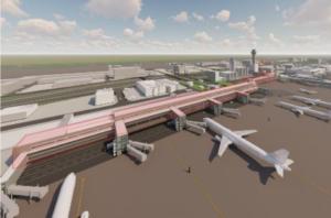 【注目】羽田空港第1・2ターミナルの拡張工事計画のターミナル配置図が判明 2024年に供用開始
