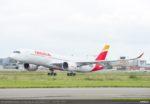 イベリア航空、五輪アスリートの成田からの帰国便はA350-900型機で運航
